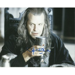 JOHN NOBLE SIGNED LORD OF THE RINGS 8X10 PHOTO