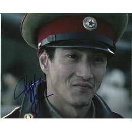 WILL YUN LEE SIGNED DIE ANOTHER DAY 8X10 PHOTO (1)