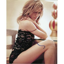 SIENNA MILLER SIGNED SEXY 10X8 PHOTO (2)