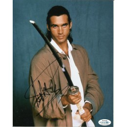 ADRIAN PAUL SIGNED HIGHLANDER 8X10 PHOTO ALSO ACOA CERTIFIED