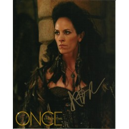 ANNABETH GISH SIGNED ONCE UPON A TIME 10X8 PHOTO
