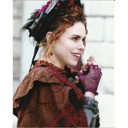 BILLIE PIPER SIGNED PENNY DREADFUL 10X8 PHOTO (1)