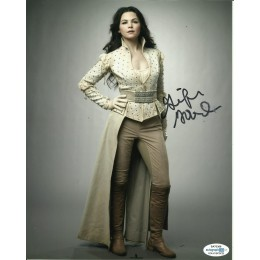 GINNIFER GOODWIN SIGNED ONCE UPON A TIME 10X8 PHOTO (2) ALSO ACOA CERTIFIED SLIGHT SMUDGE