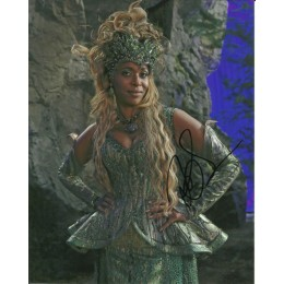 MERRIN DUNGEY SIGNED ONCE UPON A TIME 10X8 PHOTO (1)