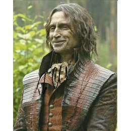 ROBERT CARLYLE SIGNED ONCE UPON A TIME 8X10 PHOTO
