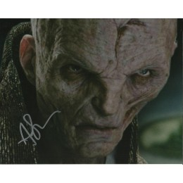 ANDY SERKIS SIGNED STAR WARS 8X10 PHOTO (4)