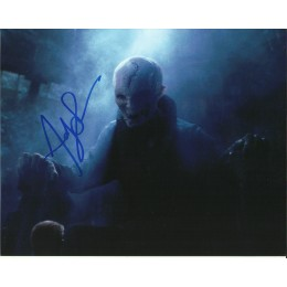 ANDY SERKIS SIGNED STAR WARS 8X10 PHOTO (6)