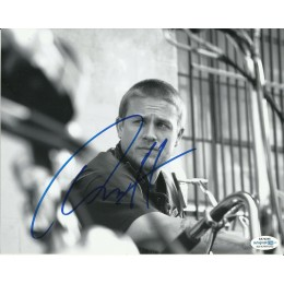 CHARLIE HUNNAM SIGNED SONS OF ANARCHY 8X10 PHOTO (1) ALSO ACOA CERTIFIED