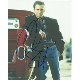 CHRISTIAN SLATER SIGNED COOL 8X10 PHOTO (2)