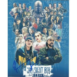 KEVIN SMITH SIGNED JAY AND SILENT BOB 8X10 PHOTO (1)