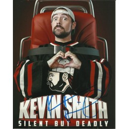 KEVIN SMITH SIGNED COOL 8X10 PHOTO (2)