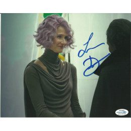 LAURA DERN SIGNED STAR WARS 8X10 PHOTO (4) ALSO ACOA CERTIFIED