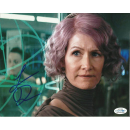 LAURA DERN SIGNED STAR WARS 8X10 PHOTO (5) ALSO ACOA CERTIFIED