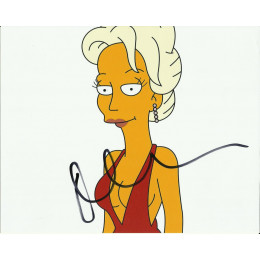 MARISA TOMEI SIGNED SIMPSONS 10X8 PHOTO