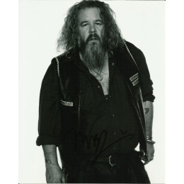 MARK BOONE JUNIOR SIGNED SONS OF ANARCHY 8X10 PHOTO (5)