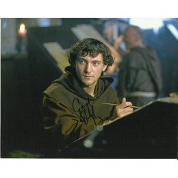 GEORGE BLAGDEN SIGNED VIKINGS 8X10 PHOTO (4)