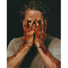ANDREW LINCOLN SIGNED THE WALKING DEAD 8X10 PHOTO (2)