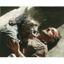 ANDREW LINCOLN SIGNED THE WALKING DEAD 8X10 PHOTO (4)