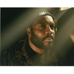 CHAD L. COLEMAN SIGNED THE WALKING DEAD 8X10 PHOTO (1)