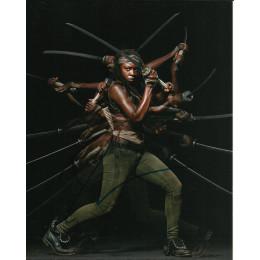 DANAI GURIRA SIGNED THE WALKING DEAD 10X8 PHOTO (3)