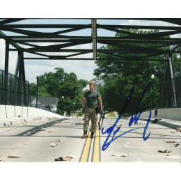 MICHAEL CUDLITZ SIGNED THE WALKING DEAD 8X10 PHOTO (1)