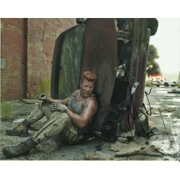 MICHAEL CUDLITZ SIGNED THE WALKING DEAD 8X10 PHOTO (2)