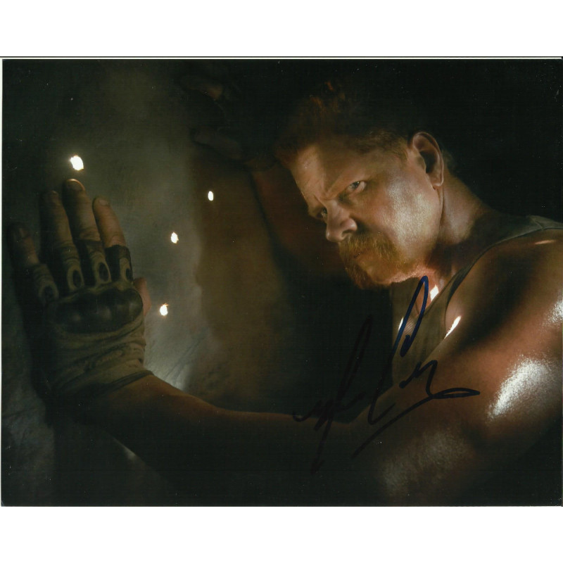 MICHAEL CUDLITZ SIGNED THE WALKING DEAD 8X10 PHOTO (3)