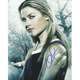 ALI LARTER SIGNED SEXY HEROES 10X8 PHOTO (4)