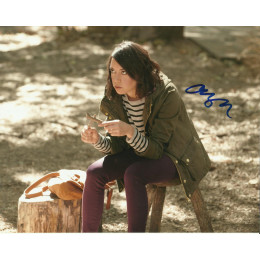 AUBREY PLAZA SIGNED PARKS AND RECREATION 10X8 PHOTO (3)