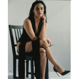CAMILA MENDES SIGNED SEXY RIVERDALE 10X8 PHOTO (3)