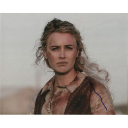 DOMINIQUE McELLIGOTT SIGNED HELL ON WHEELS 10X8 PHOTO (3)
