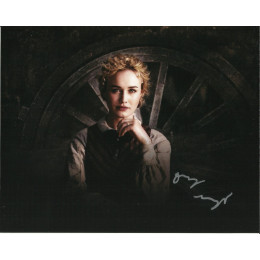 DOMINIQUE McELLIGOTT SIGNED HELL ON WHEELS 10X8 PHOTO (4)