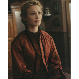 DOMINIQUE McELLIGOTT SIGNED HELL ON WHEELS 10X8 PHOTO (5)