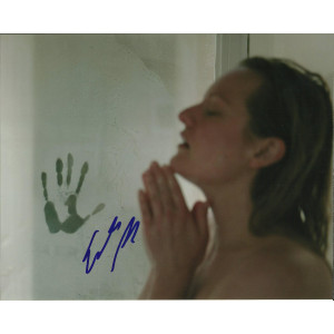 ELIZABETH MOSS SIGNED INVISIBLE MAN 10X8 PHOTO