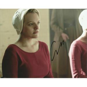 ELIZABETH MOSS SIGNED THE HANDMAIDS TALE 10X8 PHOTO (3)