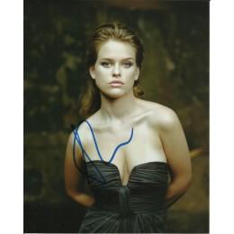 ALICE EVE SIGNED SEXY 10X8 PHOTO (2)