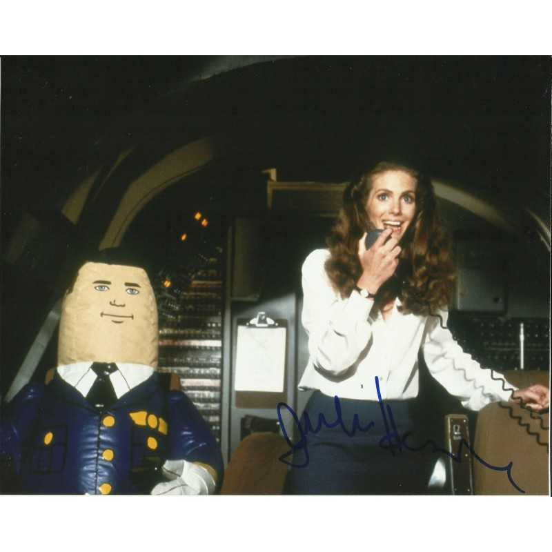 JULIE HAGERTY SIGNED AIRPLANE 10X8 PHOTO (1)