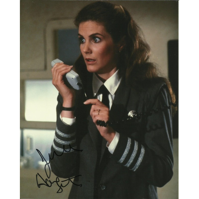 JULIE HAGERTY SIGNED AIRPLANE 10X8 PHOTO (2)