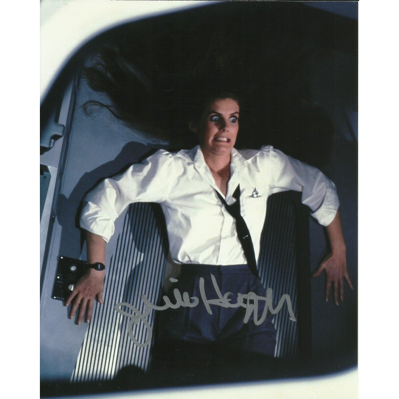 JULIE HAGERTY SIGNED AIRPLANE 10X8 PHOTO (3)