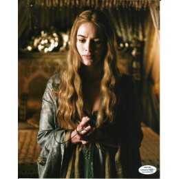 LENA HEADEY SIGNED GAME OF THRONES 10X8 PHOTO (3) also ACOA certified