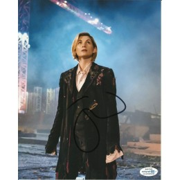 JODIE WHITTAKER SIGNED DR WHO 10X8 PHOTO (1) also ACOA certified