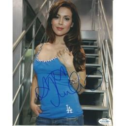 ALYSSA MILANO SIGNED SEXY 10X8 PHOTO (3)