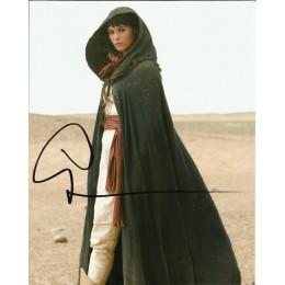 GEMMA ARTERTON SIGNED PRINCE OF PERSIA 10X8 PHOTO (1)