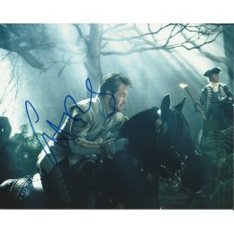 CHRIS PINE SIGNED INTO THE WOODS 8X10 PHOTO