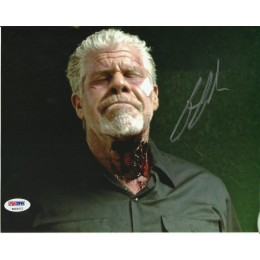 RON PERLMAN SIGNED SONS OF ANARCHY 8X10 PHOTO (1) PSA/DNA COA