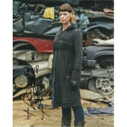 POLLYANNA McINTOSH SIGNED THE WALKING DEAD 10X8 PHOTO (1)
