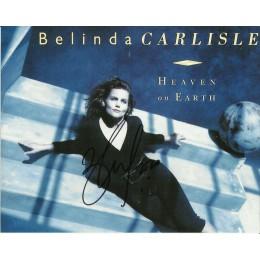 BELINDA CARLISLE SIGNED SEXY 10X8 PHOTO (1)