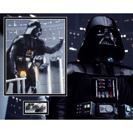DAVE PROWSE SIGNED STAR WARS PHOTO MOUNT (1) ACOA